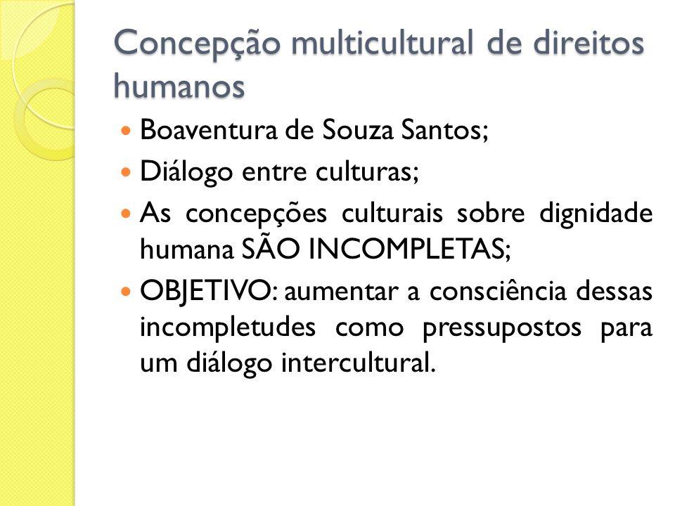 Concepção multicultural de direitos humanos