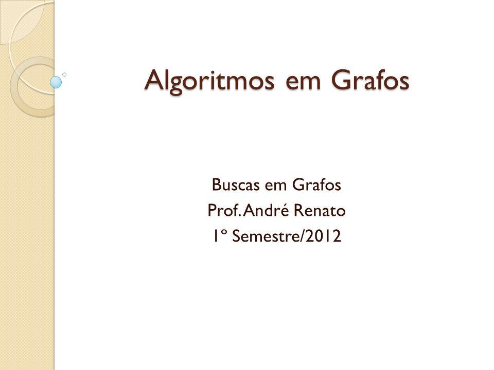 Buscas em Grafos Prof. André Renato 1º Semestre/2012