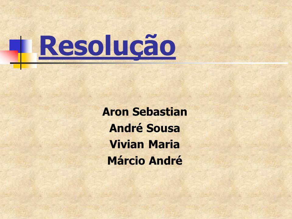 Aron Sebastian André Sousa Vivian Maria Márcio André