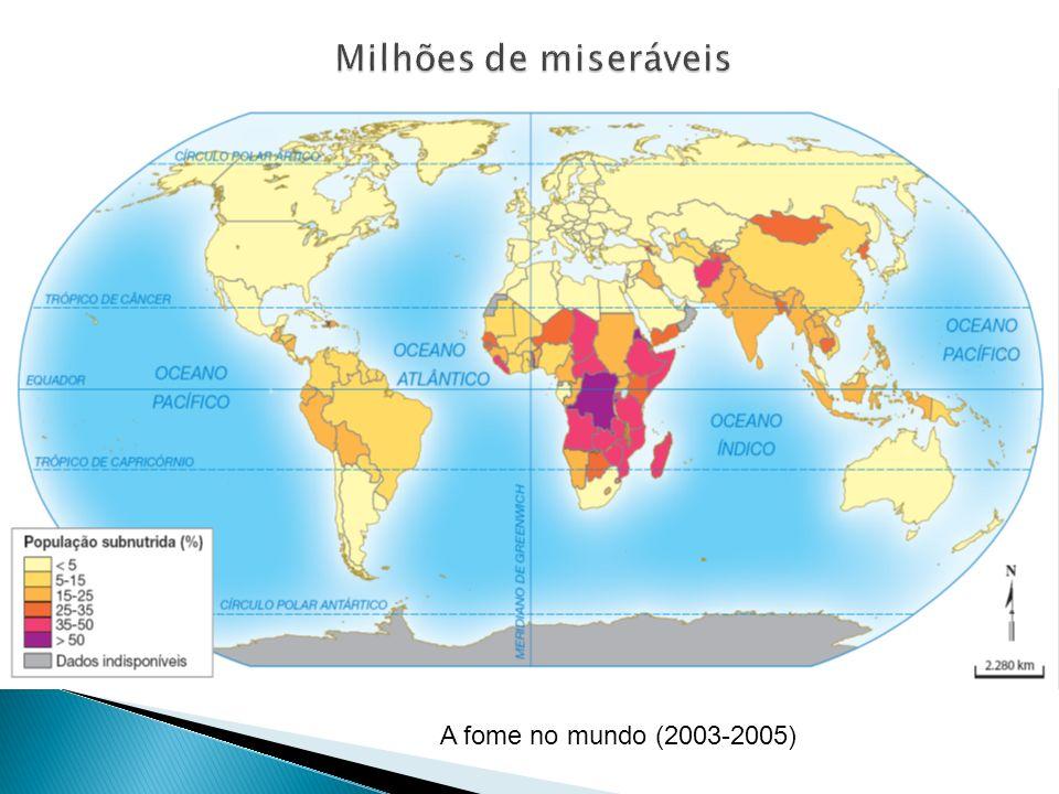 Milhões de miseráveis A fome no mundo (2003-2005)