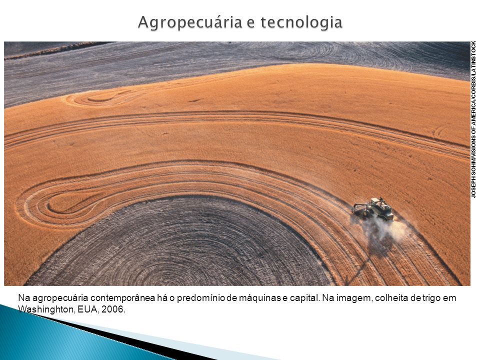 Agropecuária e tecnologia