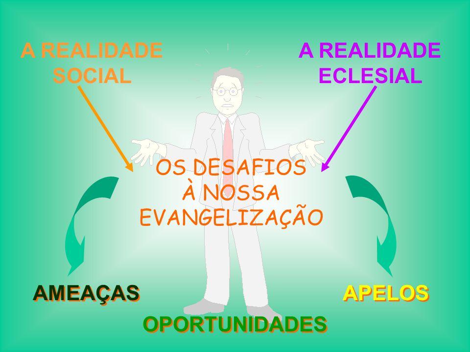 OS DESAFIOS À NOSSA EVANGELIZAÇÃO