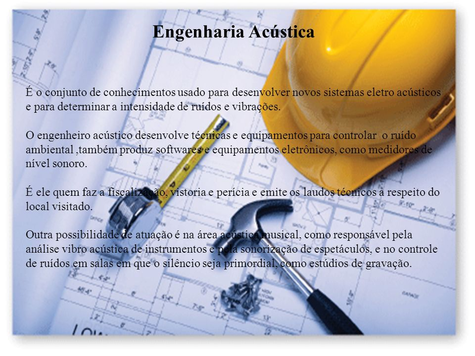 Engenharia Acústica