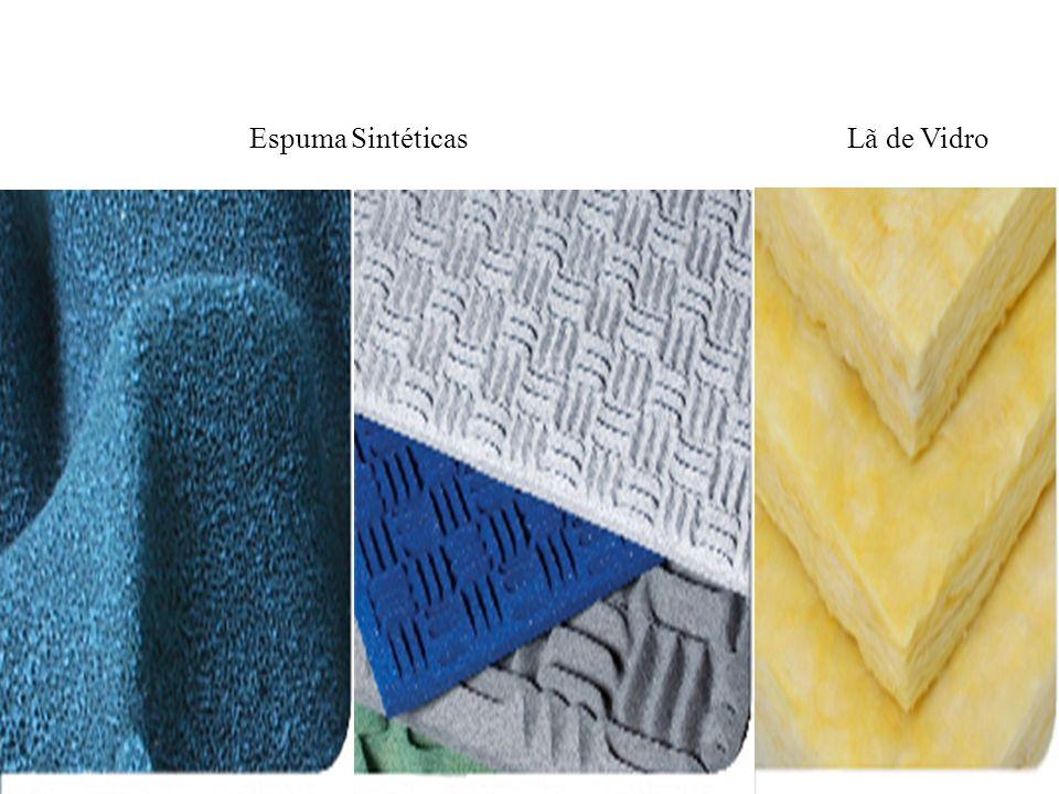 Espuma Sintéticas Lã de Vidro