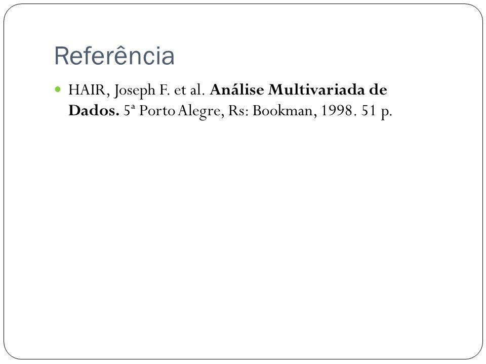 Referência HAIR, Joseph F.