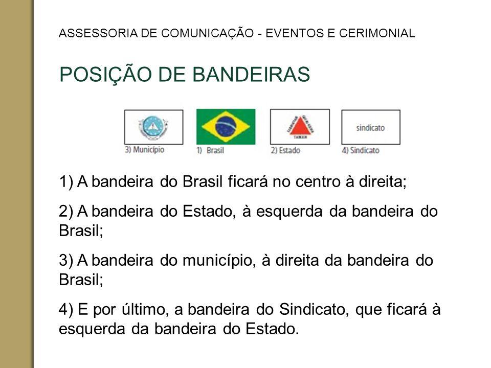 ASSESSORIA DE COMUNICAÇÃO - EVENTOS E CERIMONIAL