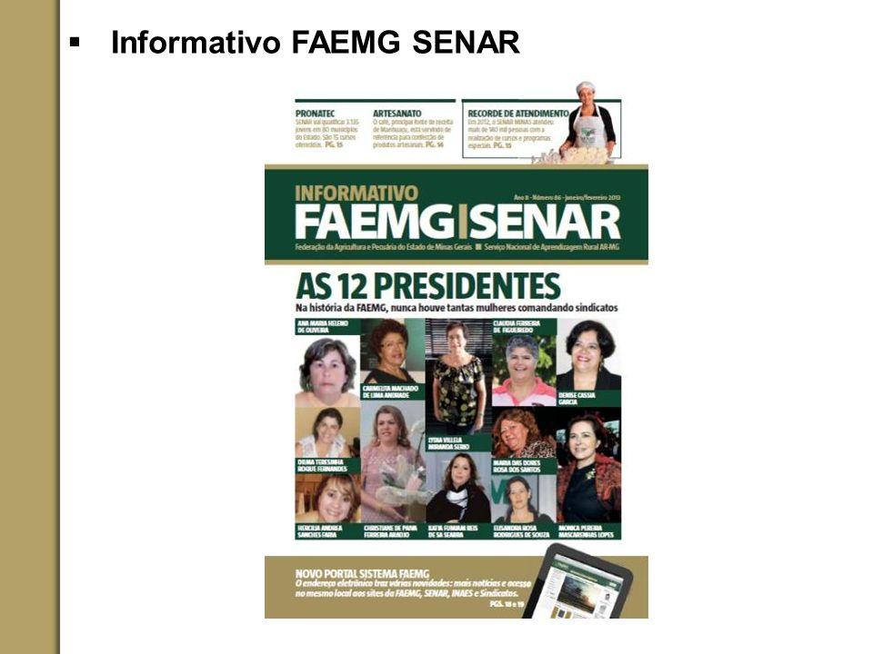 Informativo FAEMG SENAR