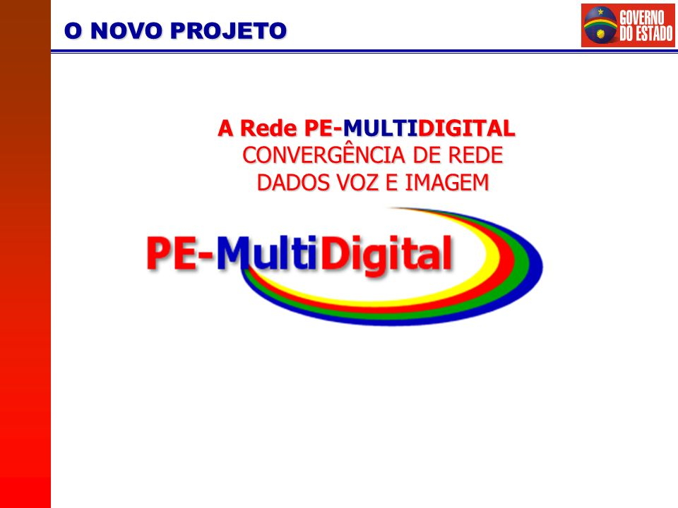 A Rede PE-MULTIDIGITAL