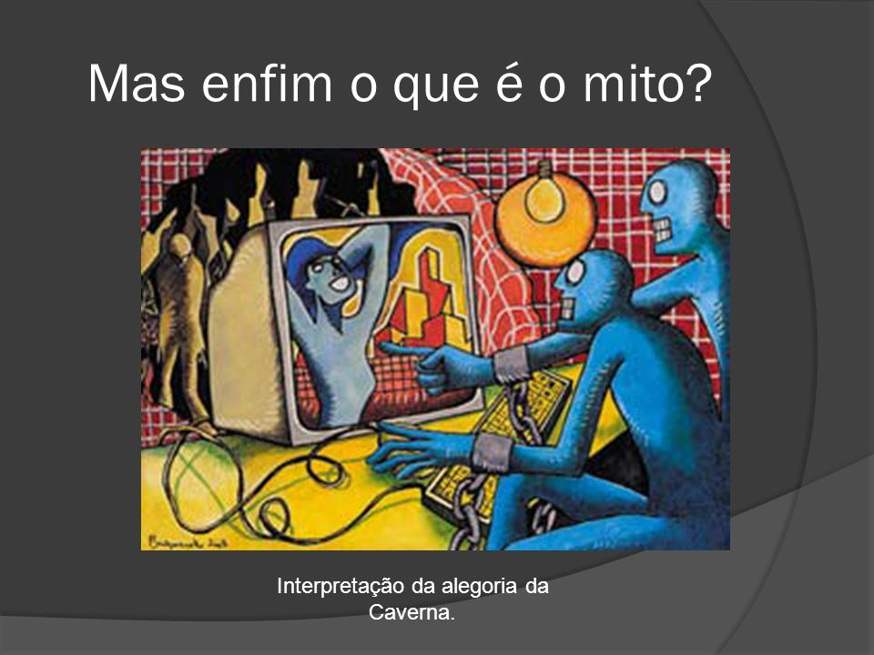 Interpretação da alegoria da Caverna.