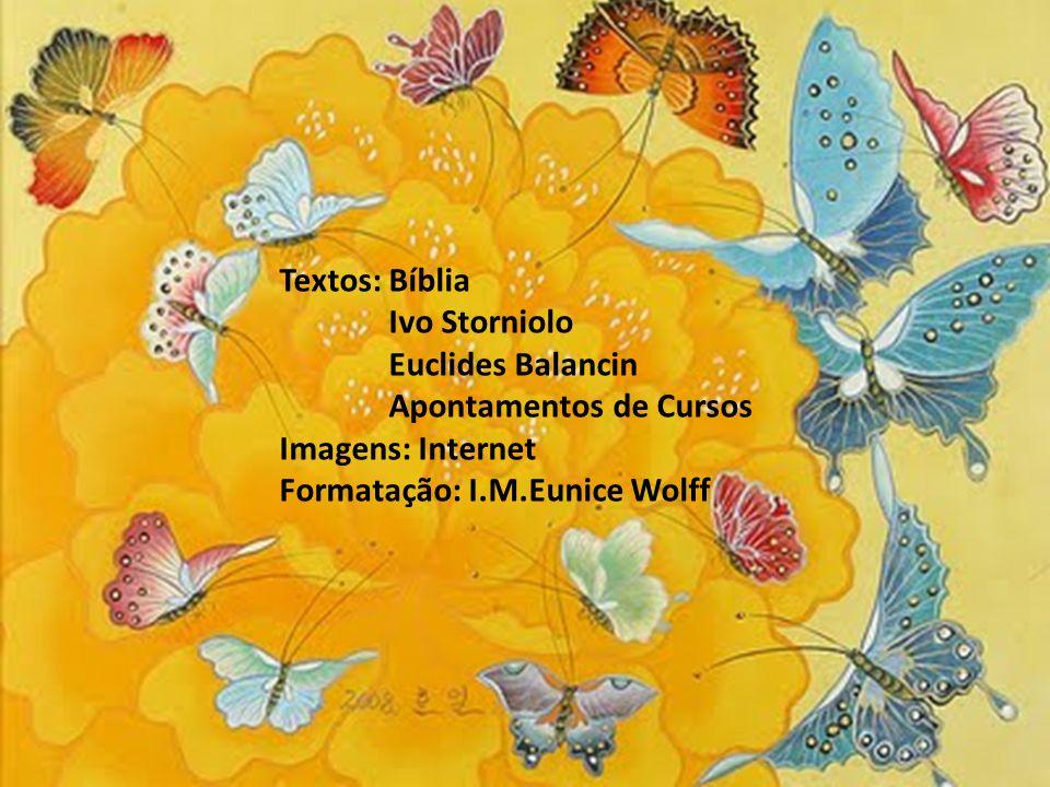 Textos: BíbliaIvo Storniolo.Euclides Balancin. Apontamentos de Cursos.