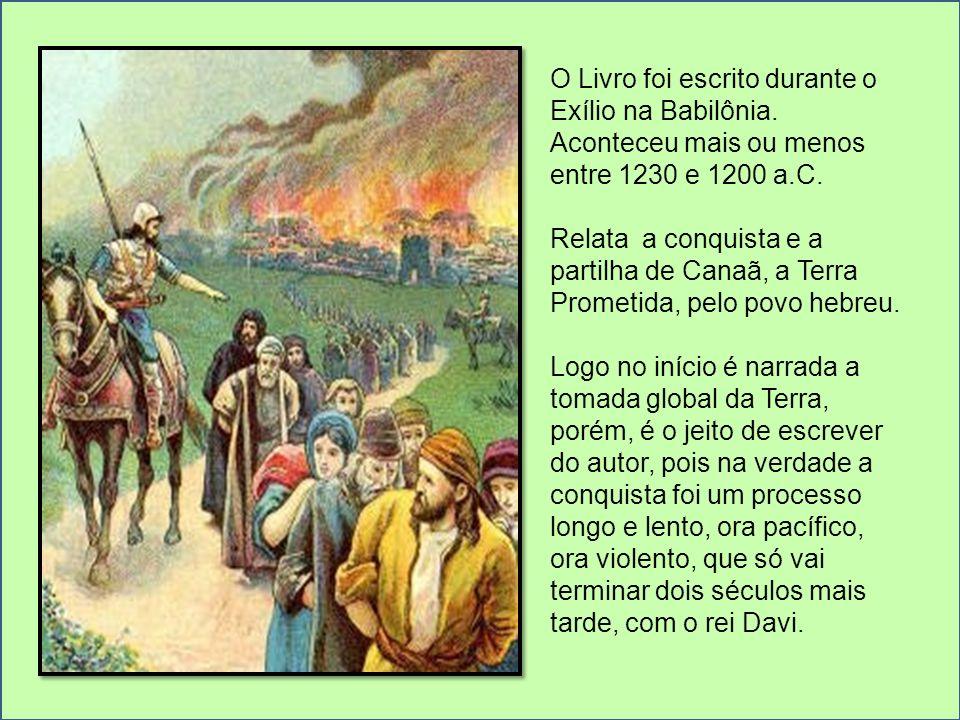 O Livro foi escrito durante o Exílio na Babilônia