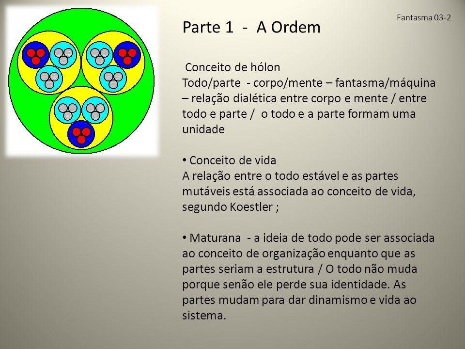 Parte 1 - A Ordem Conceito de hólon