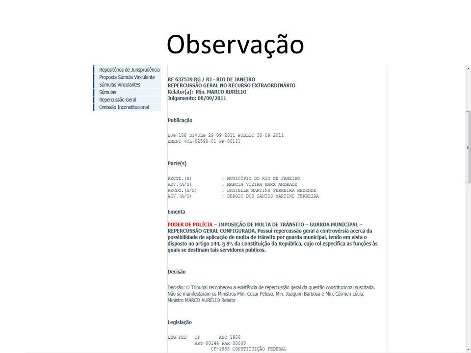 Observação