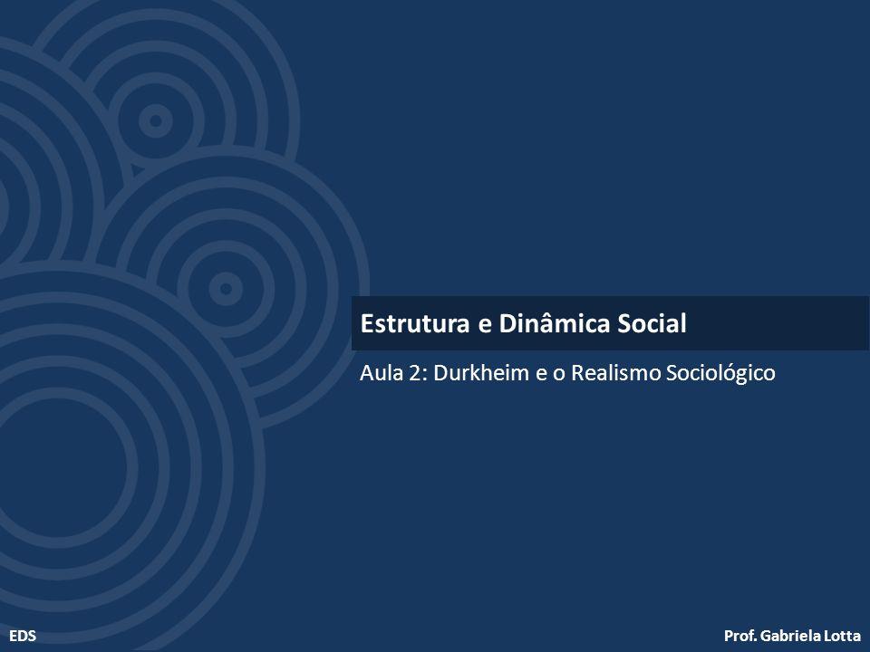 Estrutura e Dinâmica Social