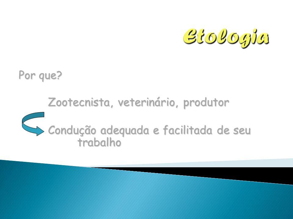 Etologia Zootecnista, veterinário, produtor