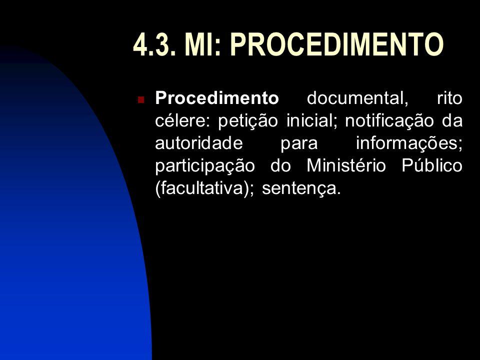 4.3. MI: PROCEDIMENTO