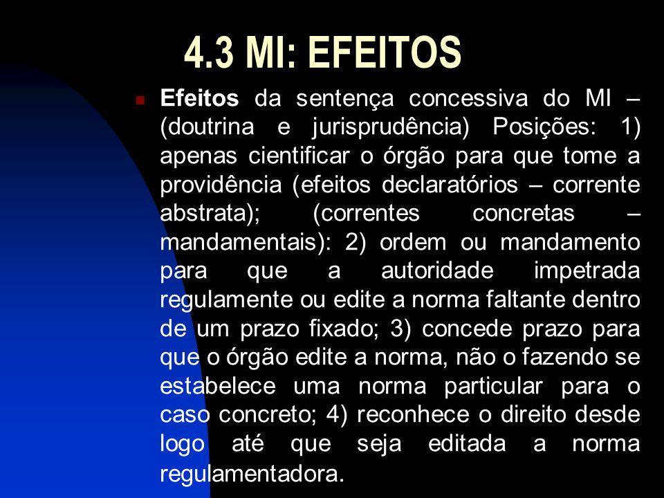 4.3 MI: EFEITOS