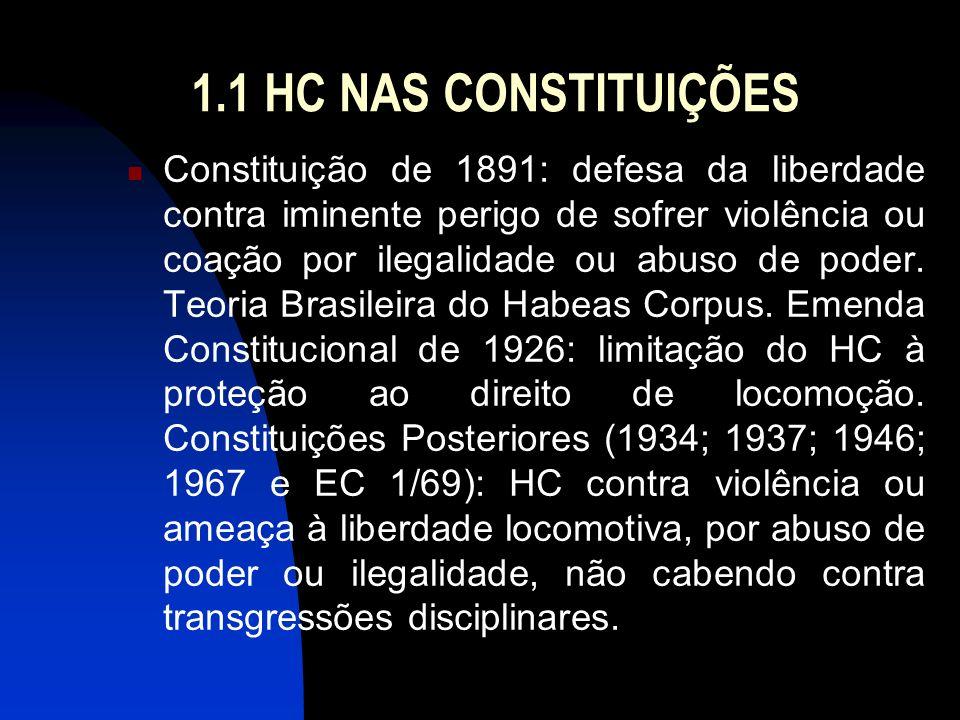 1.1 HC NAS CONSTITUIÇÕES