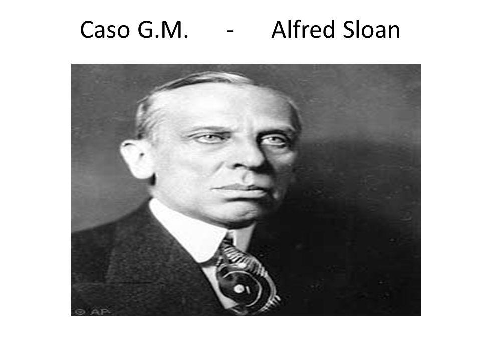 Caso G.M. - Alfred Sloan