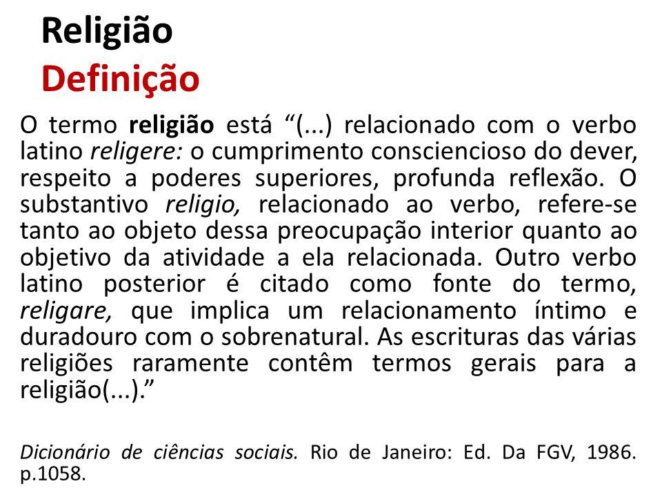 Religião Definição