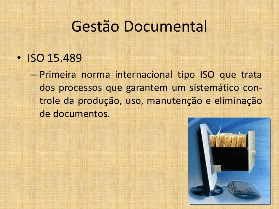 Gestão Documental ISO 15.489.