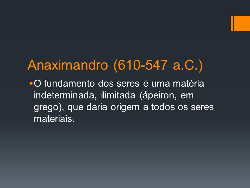Anaximandro (610-547 a.C.)
