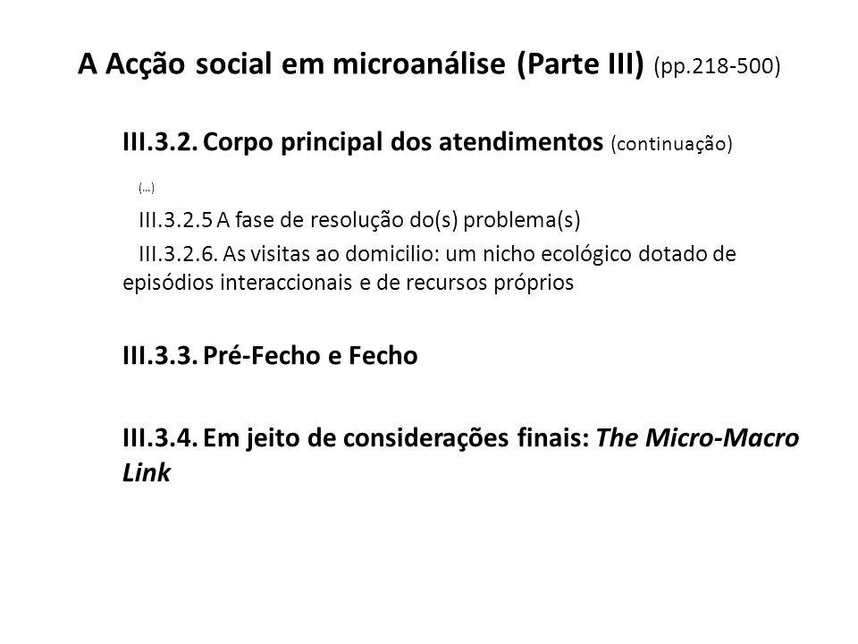A Acção social em microanálise (Parte III) (pp.218-500)