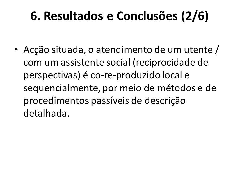6. Resultados e Conclusões (2/6)