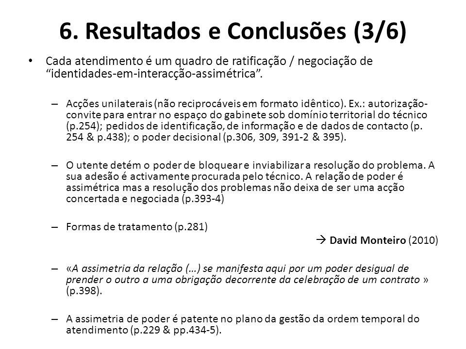 6. Resultados e Conclusões (3/6)