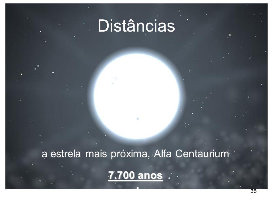 a estrela mais próxima, Alfa Centaurium