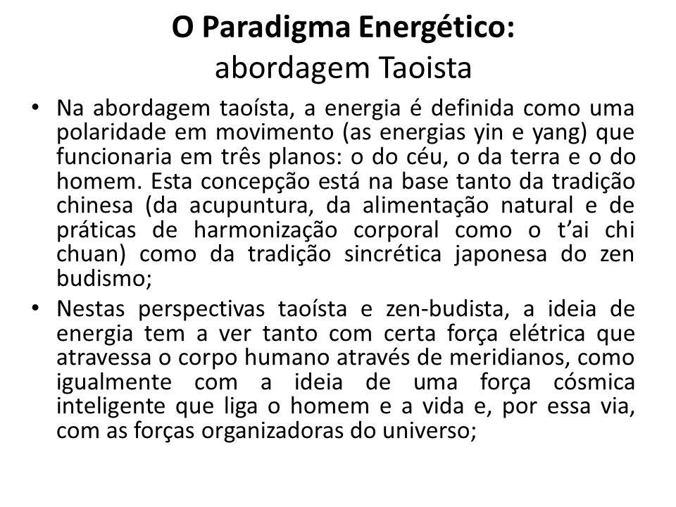 O Paradigma Energético: abordagem Taoista