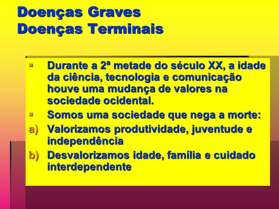 Doenças Graves Doenças Terminais