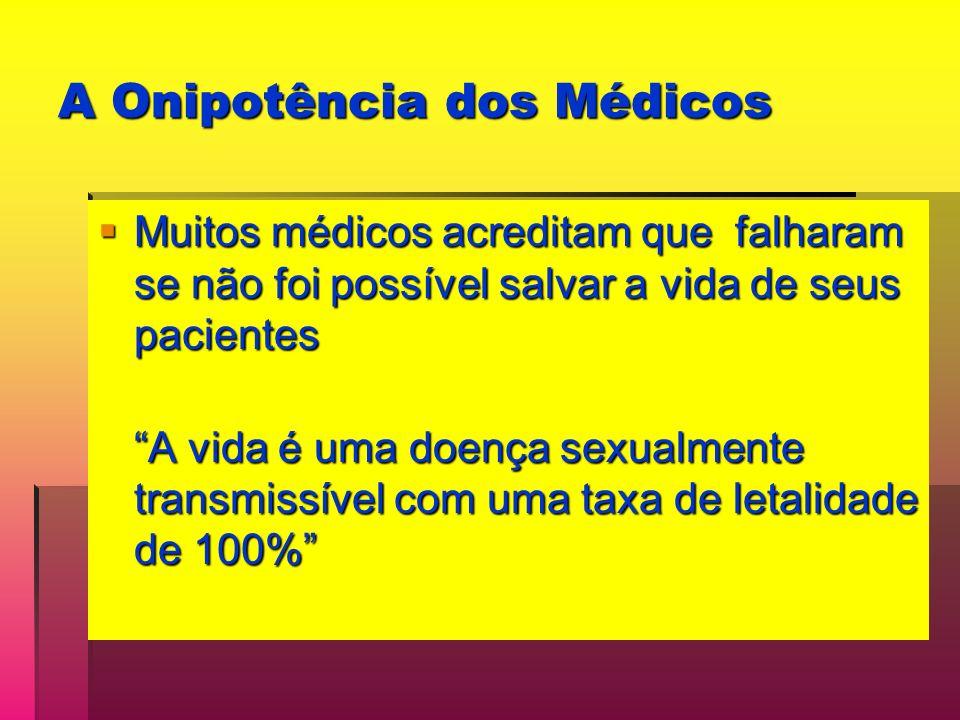 A Onipotência dos Médicos