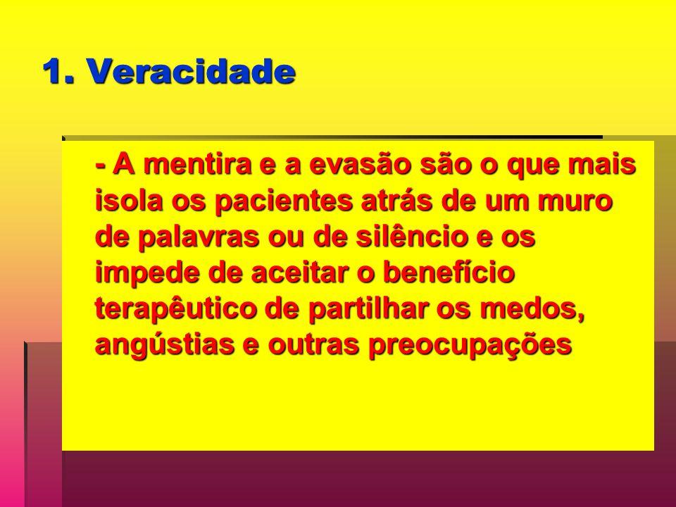 1. Veracidade