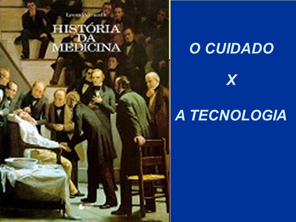 O CUIDADO X A TECNOLOGIA