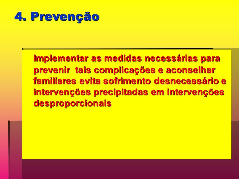 4. Prevenção