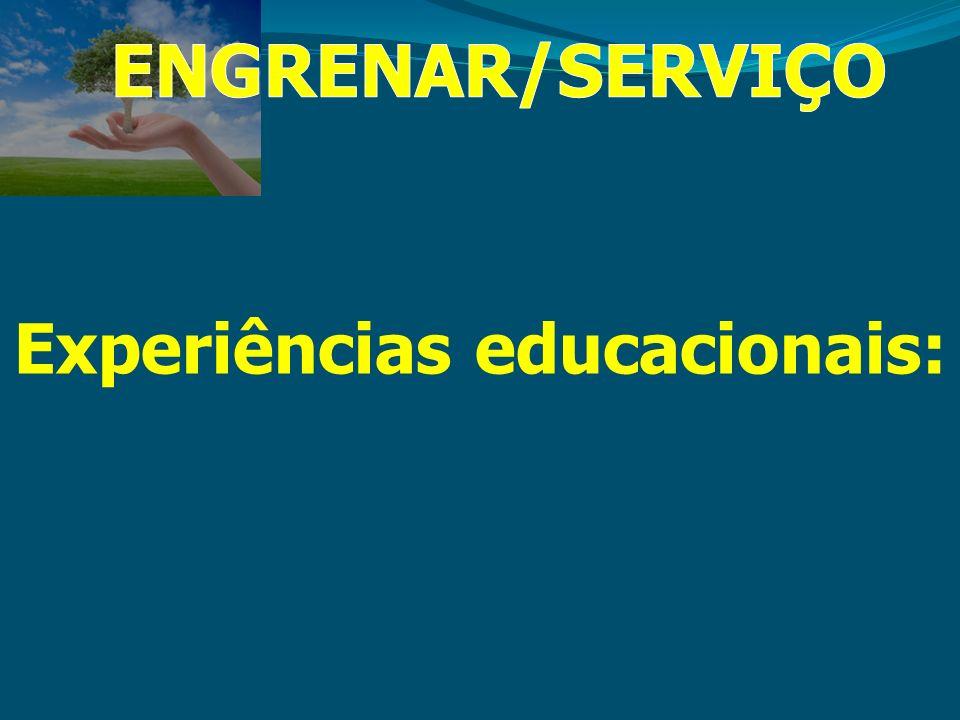 Experiências educacionais: