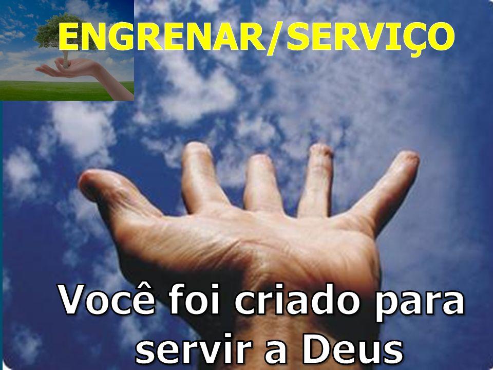 Você foi criado para servir a Deus