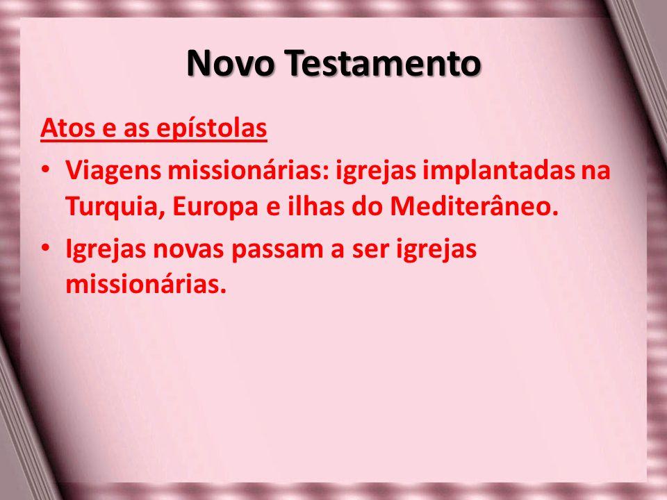 Novo Testamento Atos e as epístolas