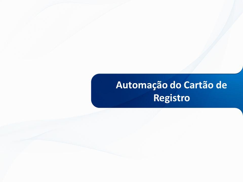 Automação do Cartão de Registro