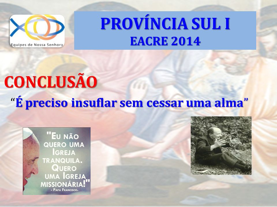 PROVÍNCIA SUL I CONCLUSÃO EACRE 2014