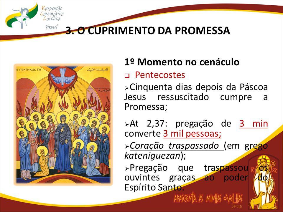 3. O CUPRIMENTO DA PROMESSA