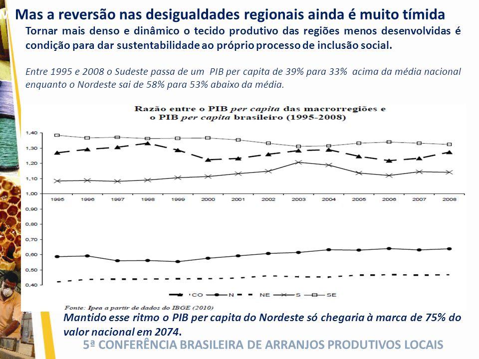 Mas ainda relegamos as Desigualdades Regionais
