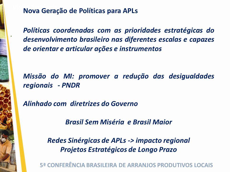 Nova Geração de Políticas para APLs