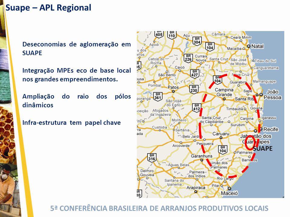 Suape – APL Regional Deseconomias de aglomeração em SUAPE