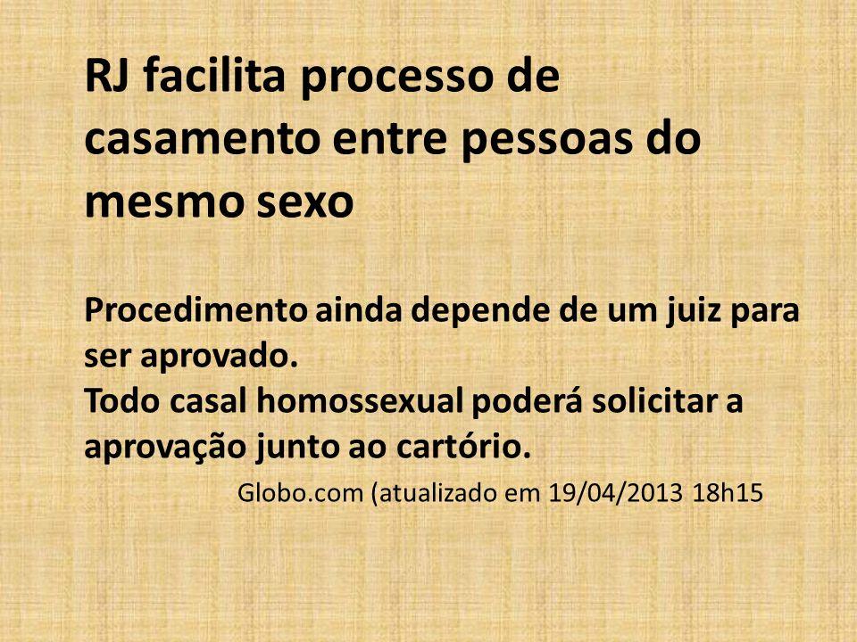 RJ facilita processo de casamento entre pessoas do mesmo sexo