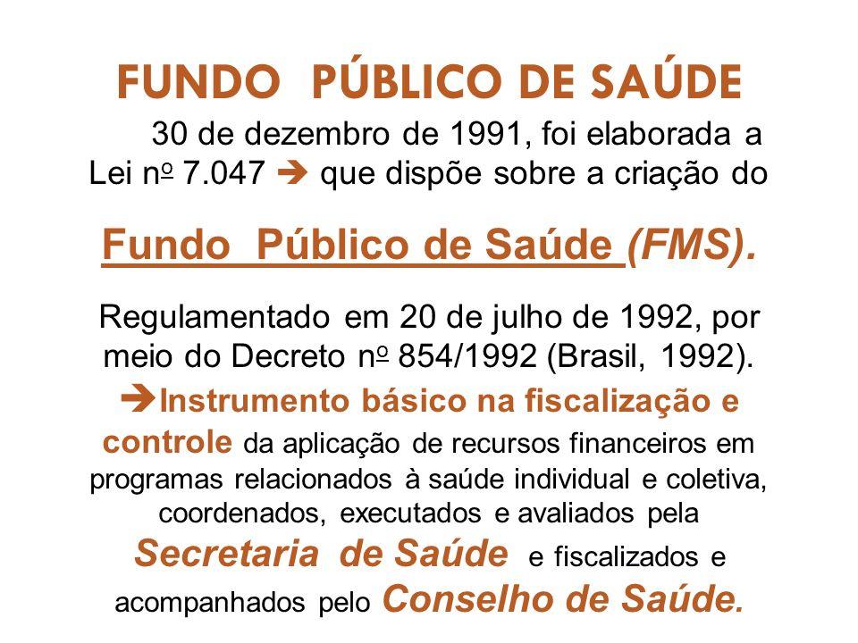 Fundo Público de Saúde (FMS).