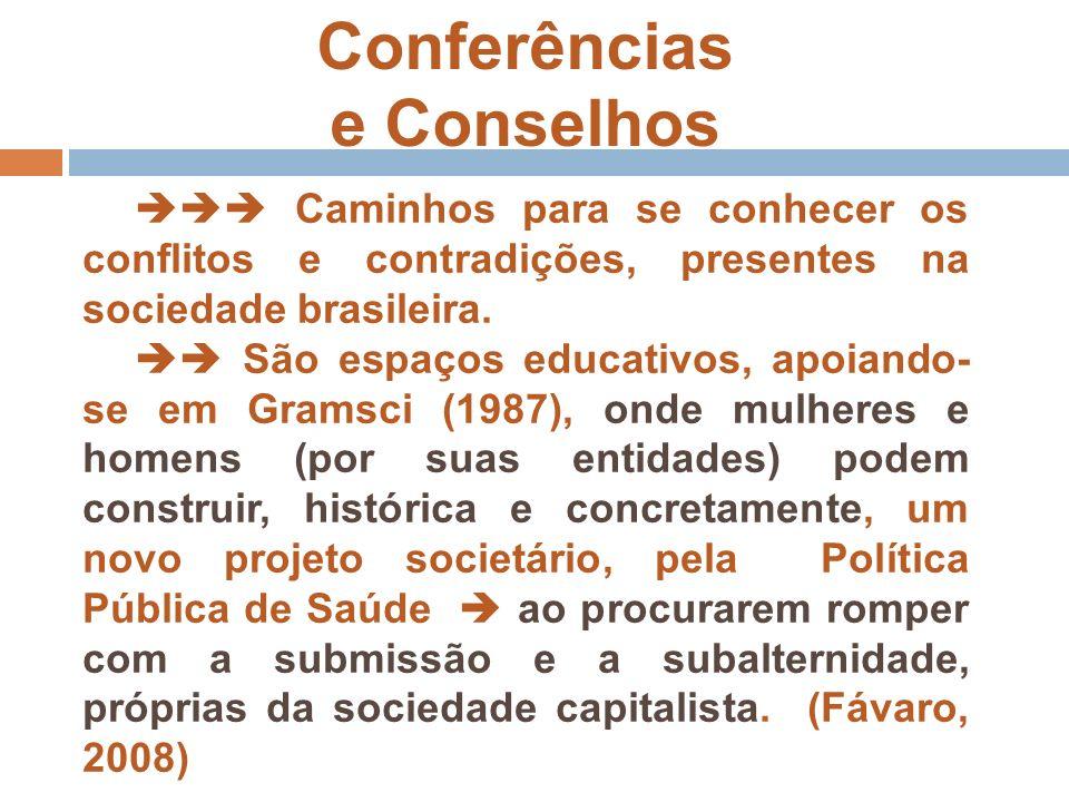 Conferências e Conselhos