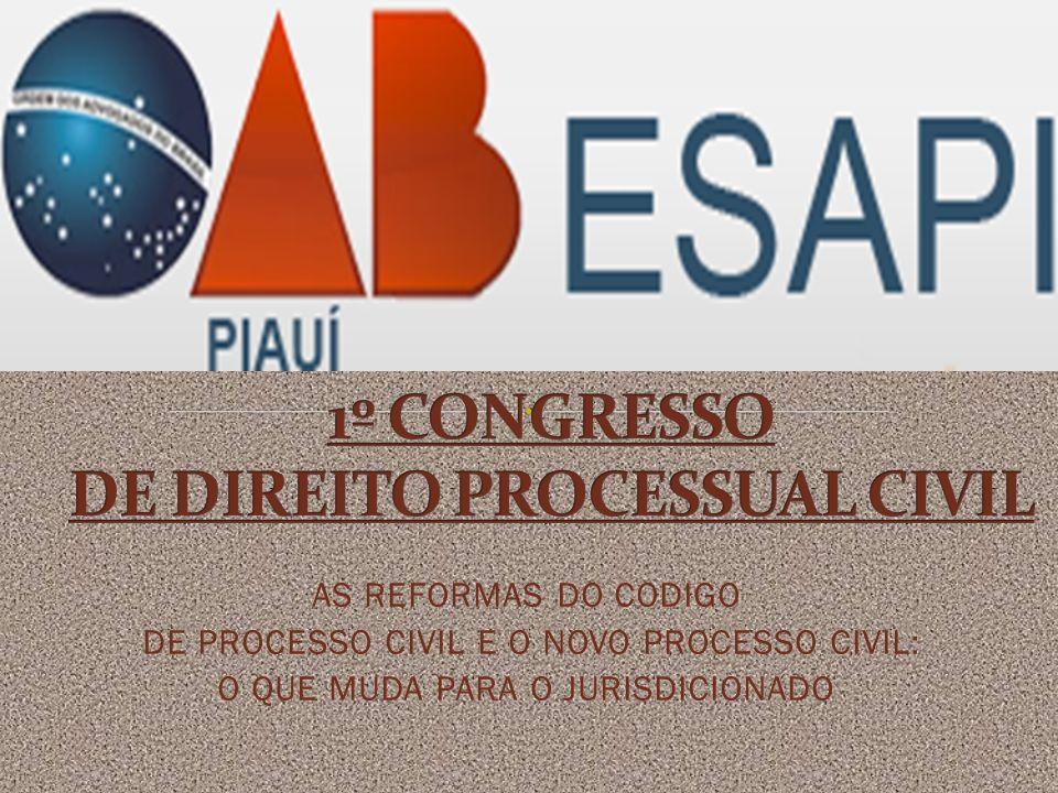 1º CONGRESSO DE DIREITO PROCESSUAL CIVIL