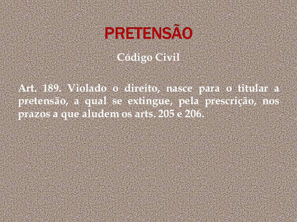 PRETENSÃO